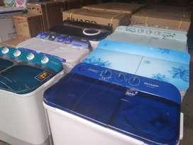 Promo kredit mesin cuci AQUA tanpa DP