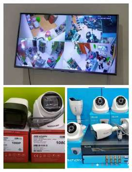 pemasangan camera CCTV Murah seting on ke hp outdoor indoor free pasng