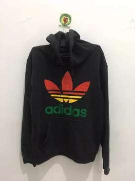 Hoodie Adidas black second ori size M