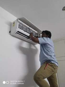 All type of air conditioner service work and installation