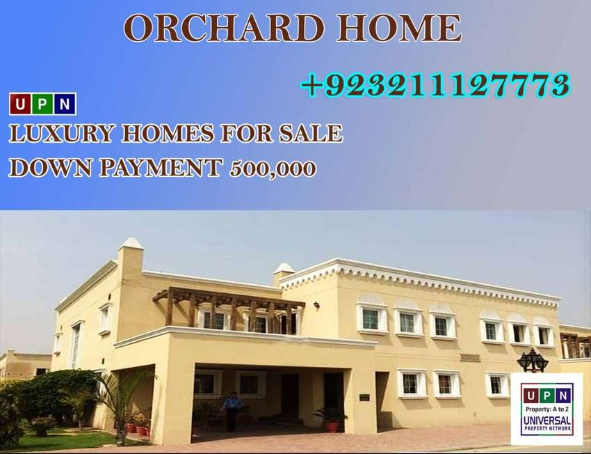 Luxury Home, 5 Marla House for Sale in Bahria Orchard in installment 0