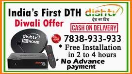 Dish Tv NXT HD new DTH Connection Airtel Tata Sky dishtv Nxt HD NEWDTH