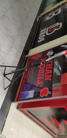 Running shop woth accessories and phones