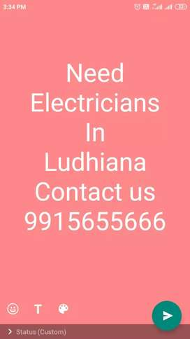 Required Electricians