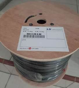 LS Coaxial cable RG6 / Kabel RG6 / Kabel RG6 Tunngal