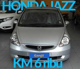 Jazz IDSI 1.5 AT 2005 Silver Antik KM 6 ribu