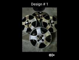 Alloy Wheels 14 inches for swift or similar - 3 designs