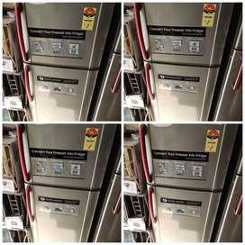 Samsung Double door fridge 260 liter 8500 RS, with warranty & delivery