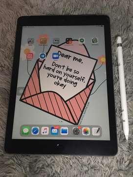 Ipad 6 32Gb wifi celluler + Apple pencil 1