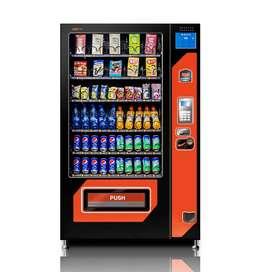 Vending Machine Minuman dan Snack Kapasitas Besar