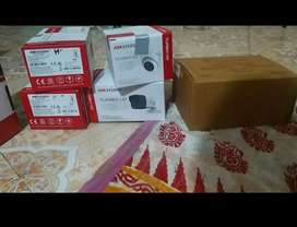 Hikvision 2MP Dome Bullet Camera & 4 CH DVR  (Full HD)