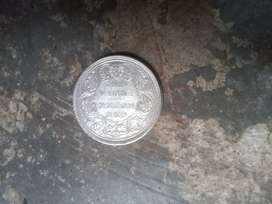 Very old silver coin since queen victoria in year 1862