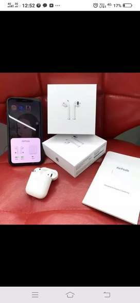Apple airpod 2 with werless charging new seal box