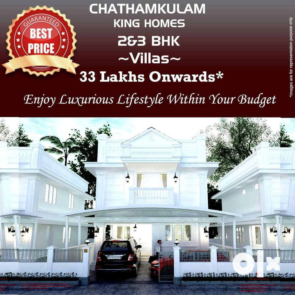 2 & 3 bhk villas with gated community facilities