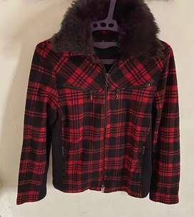 Winter Jacket Fur Colar