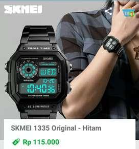 Jam tangan pria keren original Bayar di tempat