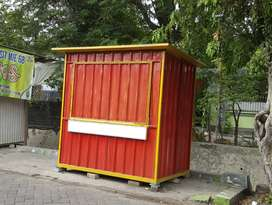 BOOTH CONTAINER