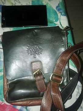 Pure leather sling bag for sale
