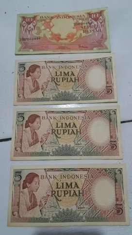Uang lama BANK indonesia