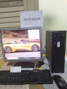 Paket PC UNBK LENOVO core i5 ram 8gb HDD 1TB LCD 17 inch Bonus Wifi