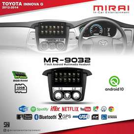 Headunit Android MIRAI MR9032 OEM New Innova, Innova G Include Pasang