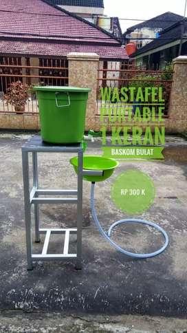 Wastafel Portable, Cuci Tangan dan Tempat Wudhu
