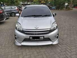 Toyota Agya S TRD Matic 2014 Tangan pertama Km 33Rb Servis Toyota