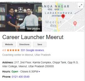 Female Academic Counselor For Career Launcher Meerut