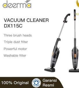 Deerma Vacuum Cleaner Penyedot Debu 2 in1 Hendheld DX115C