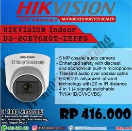 CCTV HIKVISION DS-2CE76H0T-ITPFS + Sound 5MP