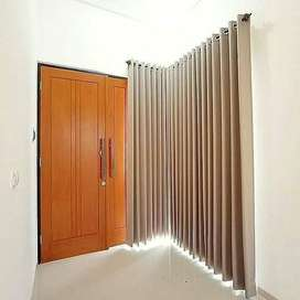 Custom Gorden Minimalis Utk Rumah Kantor Apartemen Hordeng WallpaperCu
