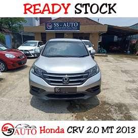 Honda CRV 2.0 MT 2013/2014 Odo40rban FullOrisiniL TopKondisi