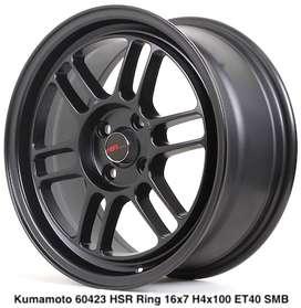 Velg Mobil KUMAMOTO 60423 HSR R16X7 H4X100 ET40 SMB