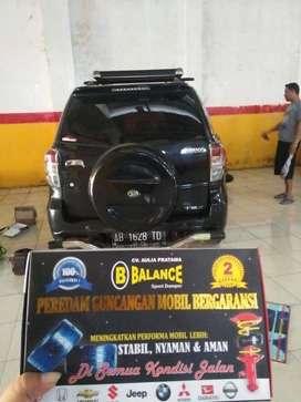 BALANCE, Solusi Terbaik untuk Meredamkan Guncangan Keras di Mobil