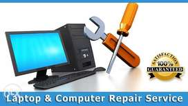 Computers and Laptops Service, Maintenance & Softwares