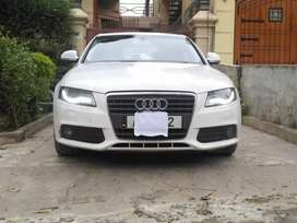 Audi A4 2.0TDI documents clear non touching location Islamabad