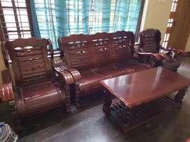 Malaysian teak sofa set