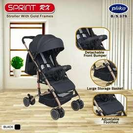 Stroller pliko bisa untuk bayi baru lahir 745rb Ready