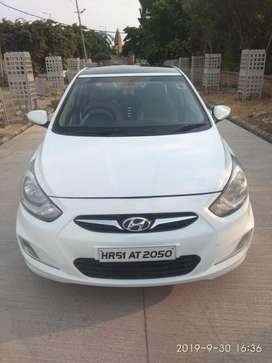Hyundai Verna Fluidic 1.6 CRDi SX, 2012, Petrol