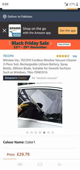 TECCPO window vacuum cleaner
