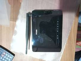 D Link Router New Only only 2 Month Use