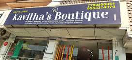 Kavithas boutiqe for sale