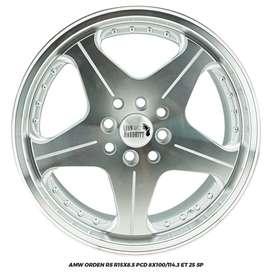 VELG RACING JAZZ BRIO CALYA  SIGRA ORDEN RS R15X8.5 8X100-114,3 ET25