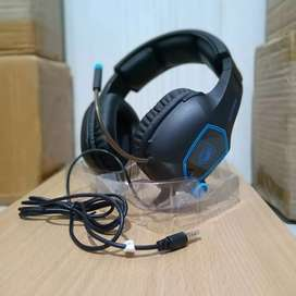 Headset Gaming Stereo Sades (FREE Splitter ke PC)