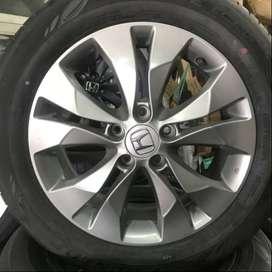 READY Velg 17 Oem Honda CRV 2.0cc Hiu & Ban 90%