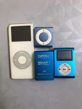 Apple and zebronic ipod