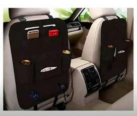 Deskripsi Car Seat Organizer Tas Mobil Belakang Jok Kursi