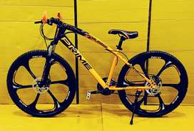X-Trex Power Prime 6 Spokes Cycle with 21 Speed Gears and Dual Breaks