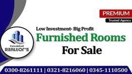 Furnished Room For Sale Invest 32 Lac and Get Yearly Income of 3 Lac