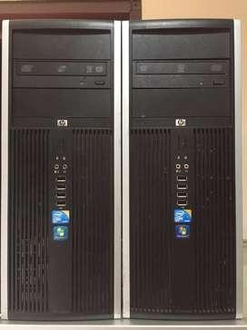 CPU core2duo 3,0ghz HP built up bergaransi 1 bulan